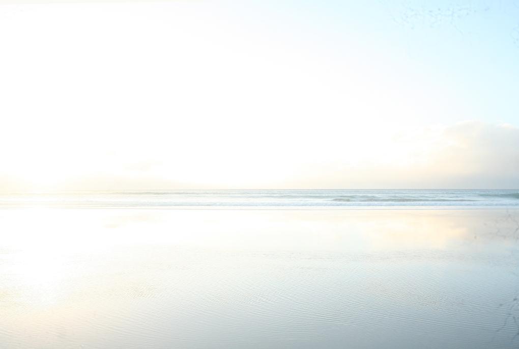 Blown out bright beach brunswick
