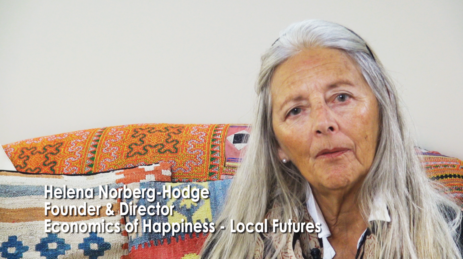 Helena Norberg Hodge is co-founder Local Futures