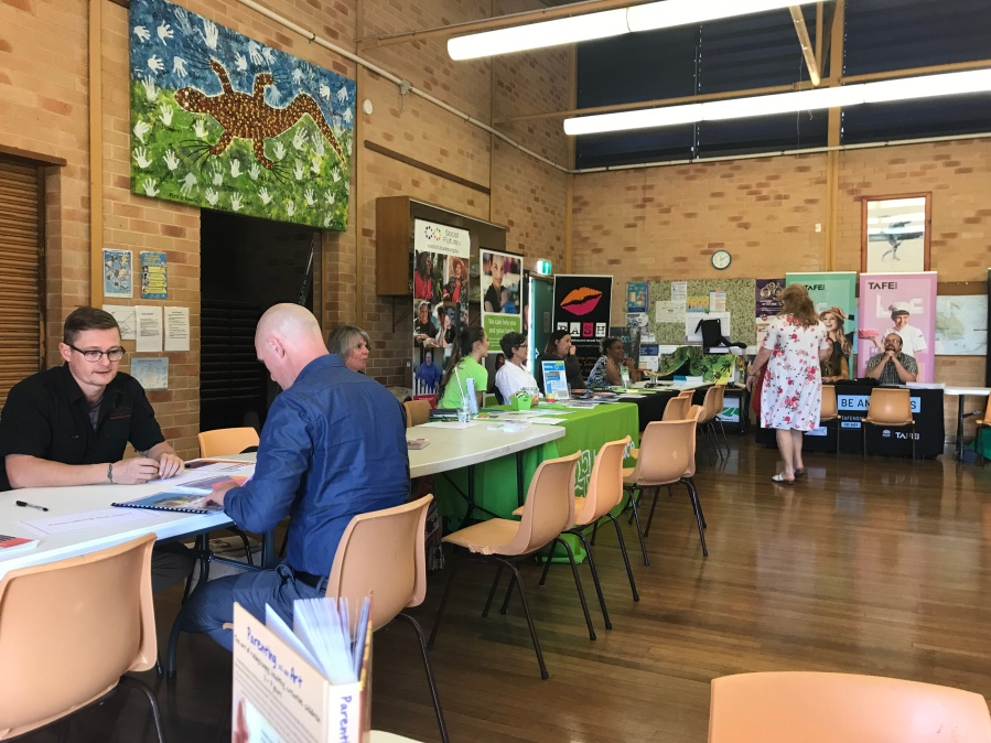 Meaningful Values in Action was one of the innovative programs showcased in the Meet the Principals, Northern Rivers NSW