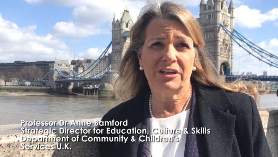 Professor Dr Anne Bamford UK