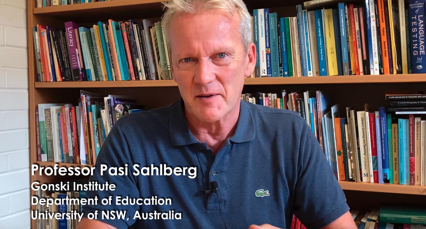 Professor Pasi Sahlberg